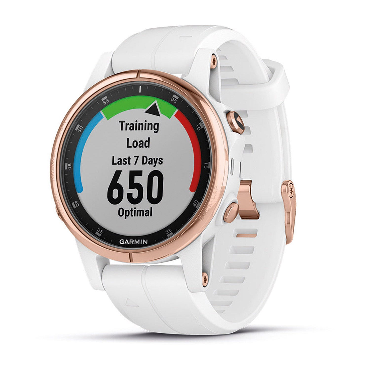 Garmin fenix 5S Plus Rose Gold & White 42mm Smartwatch