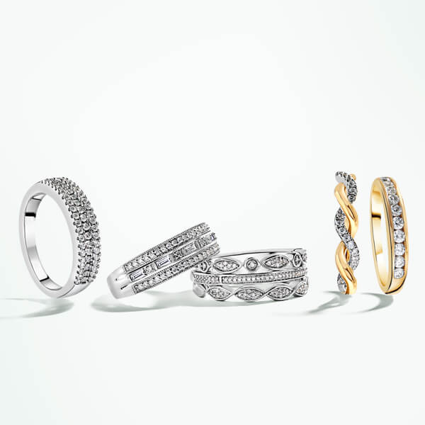Rings at Fields the Jeweller