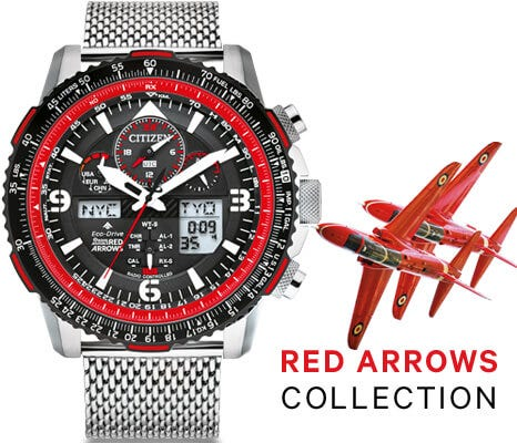 Red Arrows Citizen Watches