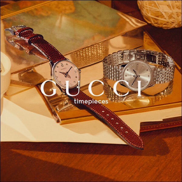 Gucci Luxury Watches and Jewellery