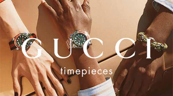 Gucci Watches at Fields the Jeweller